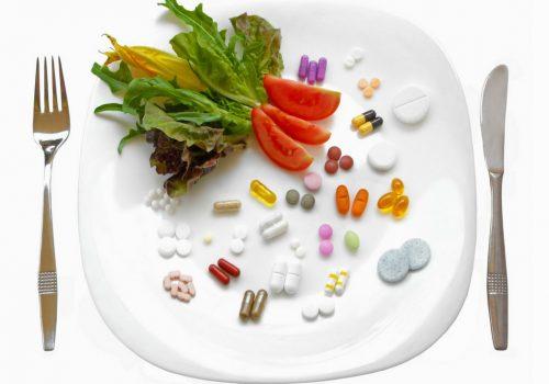 leki z żywnością