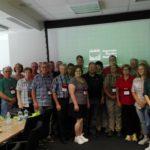 Spotkanie <br> z rolnikami amerykańskiej organizacji <br> Iowa Farm Bureau