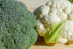 brokuły i kalafior