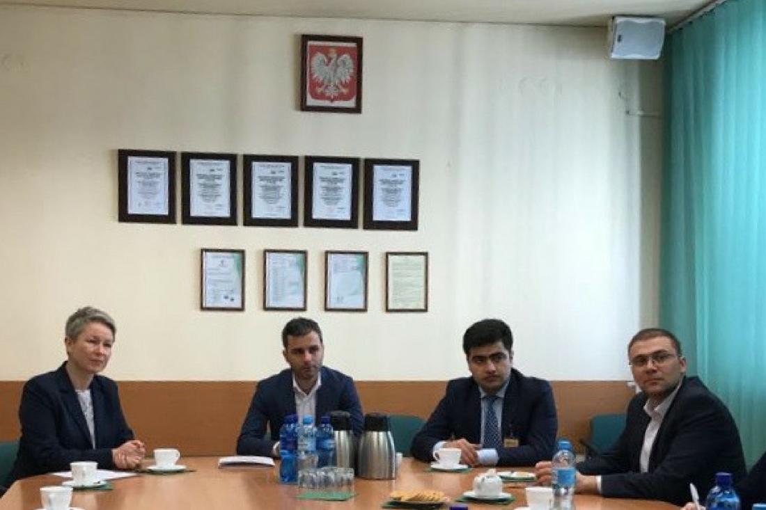 Przedstawiciele administracji rządowej Republiki Azerbejdżanu w GIJHARS