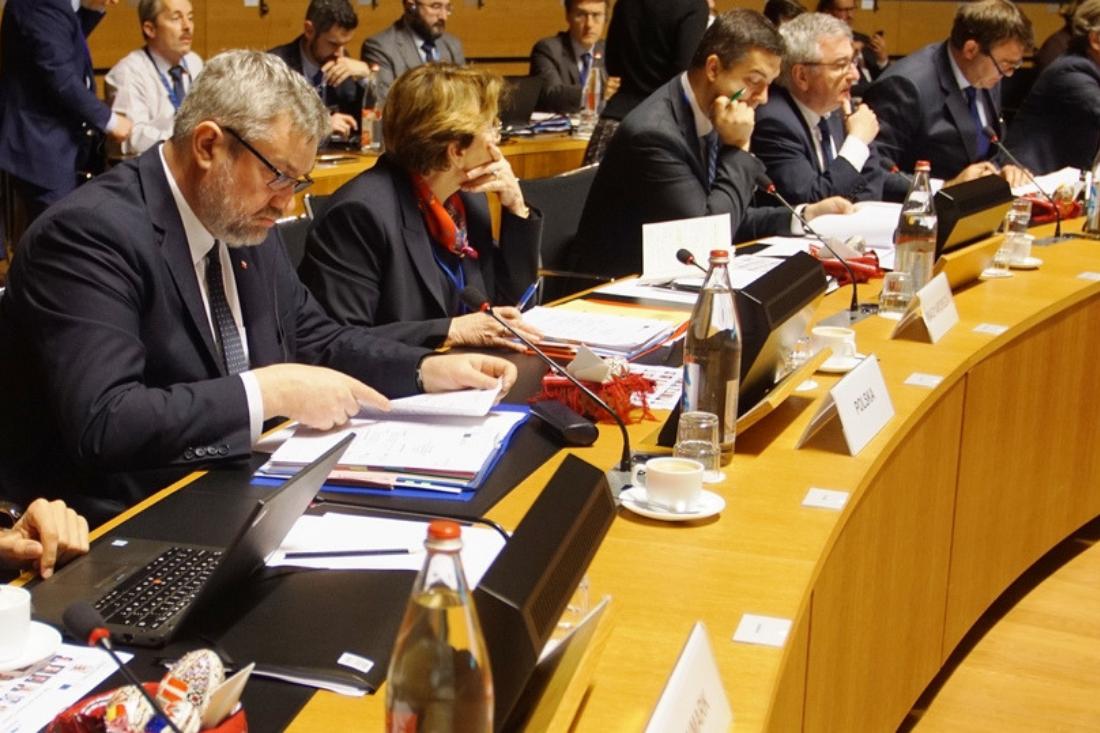 Rada Ministrów rolnictwa UE AGRIFISH<BR> w Luksemburgu