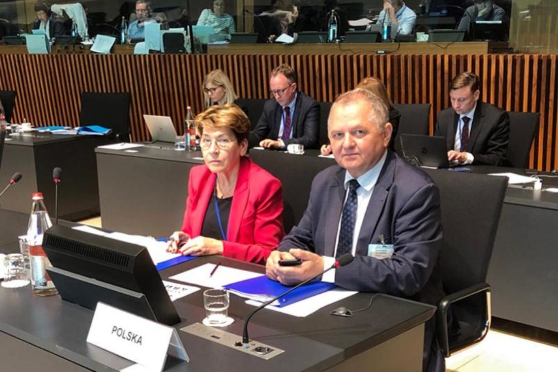 Posiedzenie Rady Ministrów Rolnictwa<br> UE w Luksemburgu