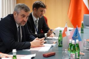 Posiedzenie Rady Ministrow rolnictwa panstw UE w Brukseli