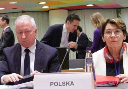 Posiedzenie Rady Ministrow Rolnictwa UE - AGRIFISH (1)